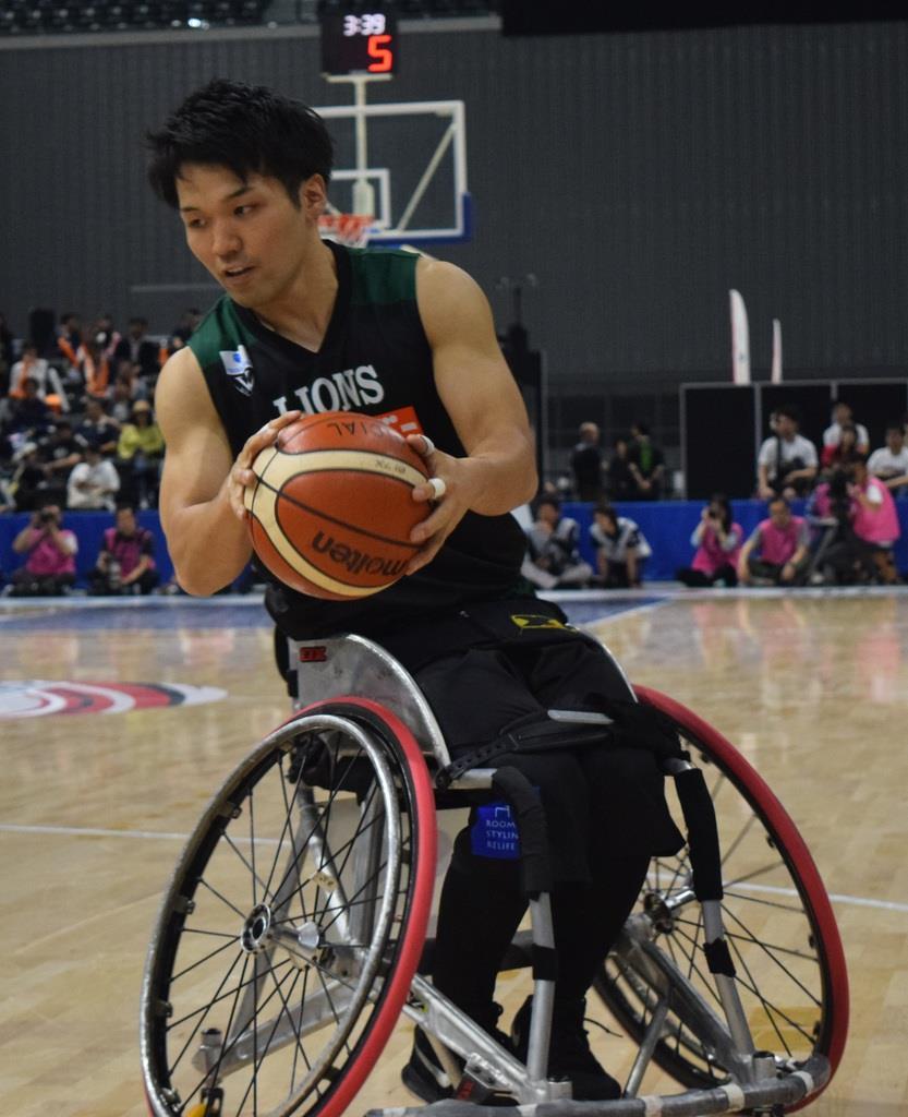 埼玉ライオンズの健常者プレーヤー、大山伸明選手