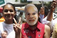 モディ首相続投へ インド総選挙で与党連合圧勝の見通し