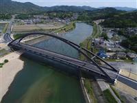 令和一番乗り 命名「瀬田川令和大橋」 大津の国道に新設 26日供用