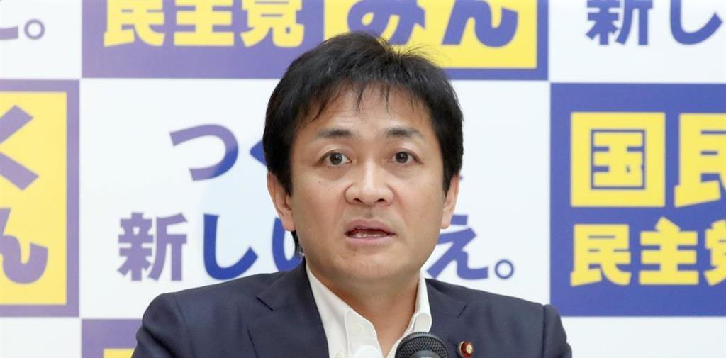国民民主党・玉木雄一郎代表=国会内(春名中撮影)