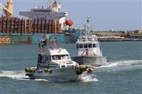 石巻港でテロ対策訓練 警察・海保など連携確認