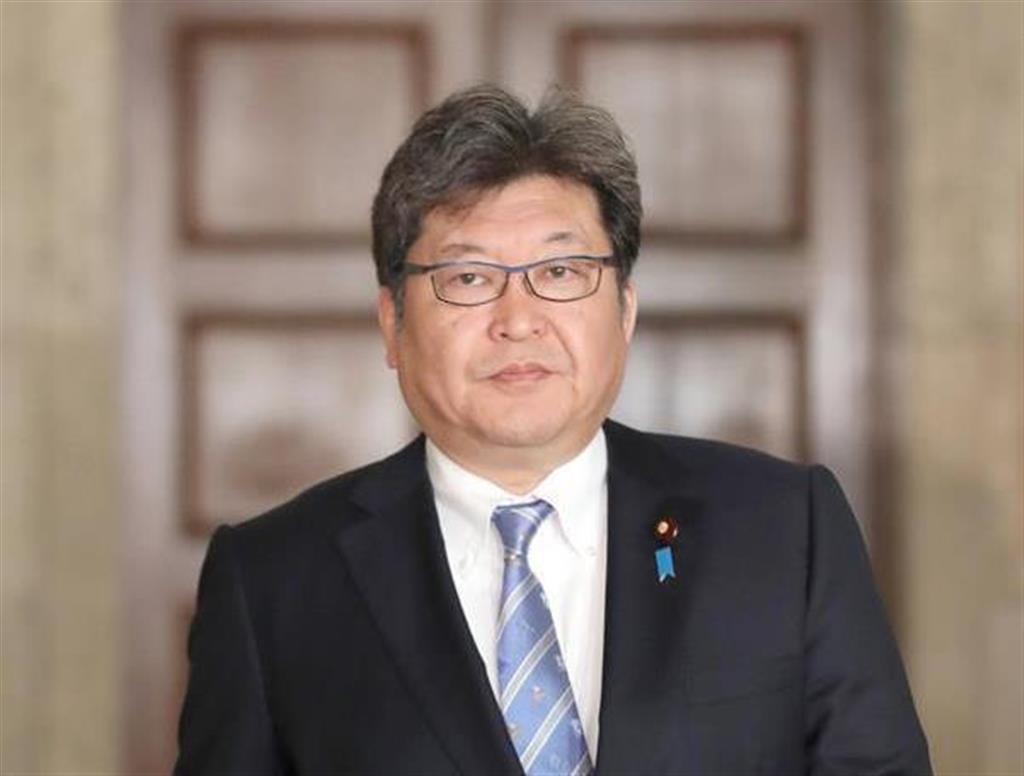 自民党・萩生田光一幹事長代行=22日、国会内(春名中撮影)