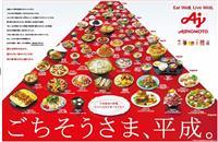 【フジサンケイグループ広告大賞】(5)味の素 一目で分かる料理の平成史
