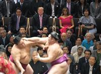 トランプ効果で大相撲夏場所・千秋楽の平均視聴率26・3%