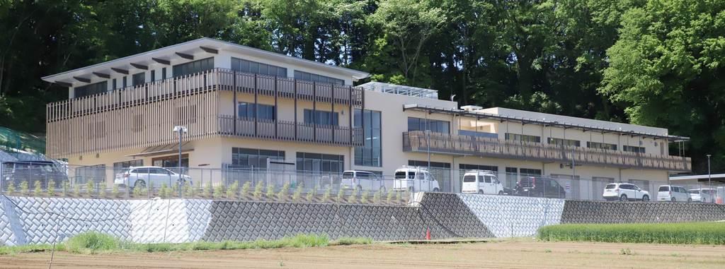 6月1日に開所予定の神奈川県動物愛護センター=いずれも平塚市