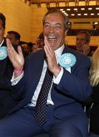 英離脱で世論いまだ二分 離脱党躍進、残留派も善戦