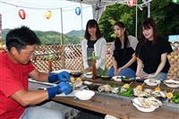 夏の味覚・岩がき楽しんで 舞鶴に6月1日から牡蠣小屋