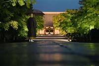 世界遺産仁和寺で初のライトアップ