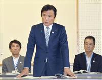 九州北部豪雨の仮設入居の延長、福岡知事は明言せず