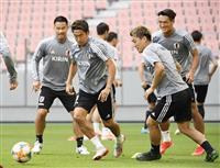 サッカー日本代表 冒頭のぞき非公開で調整 大迫も復帰