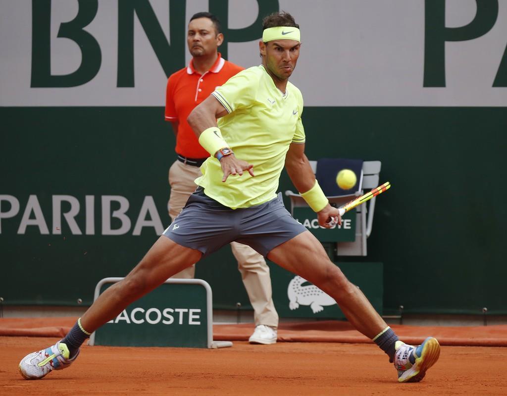 ナダルが最多12度目の4強 錦織を翻弄 全仏テニス - 産経ニュース