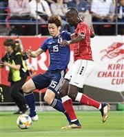 【サッカー日本代表】速報2 序盤から日本が押し込む