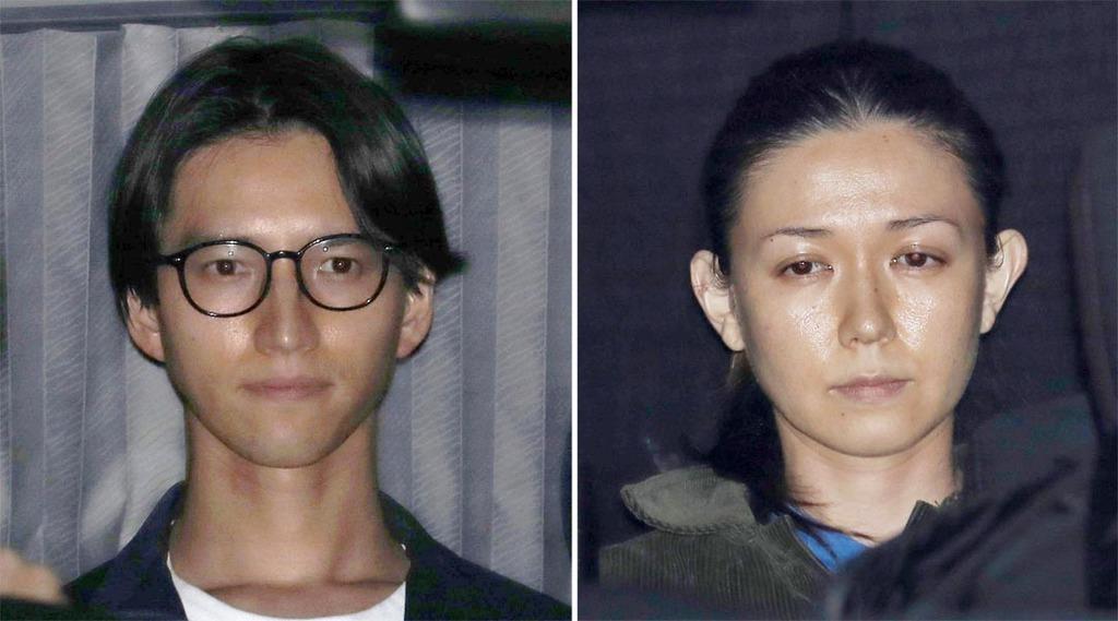 元KAT-TUN田口淳之介容疑者(左)と小嶺麗奈容疑者