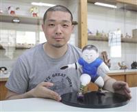 人形師・中村氏、パラ卓球選手の博多人形制作 優しさの中たくましさ表現 福岡