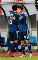 サッカー日本戦・速報(6)久保建がA代表デビュー 史上2番目の年少記録