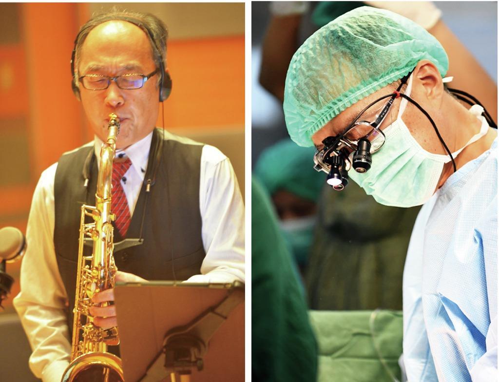 なにわジャズ大賞を受賞した市川肇さん、昼間の顔は小児心臓外科医