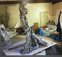 「ライダイハン像」ロンドンで11日に公開へ