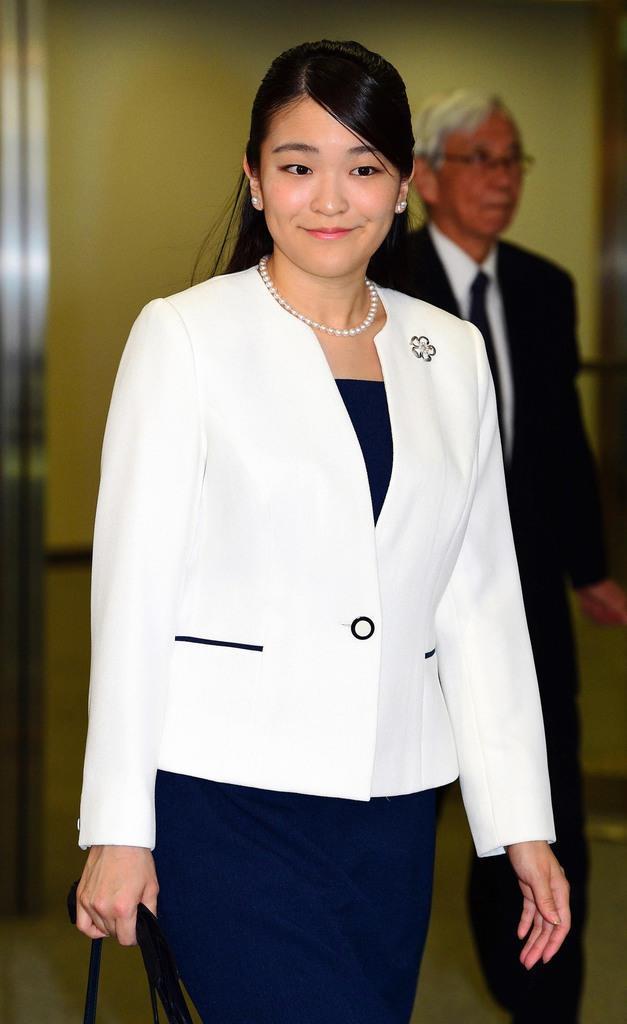 平成30年7月31日、ブラジルから帰国された秋篠宮家の長女・眞子さま=成田空港