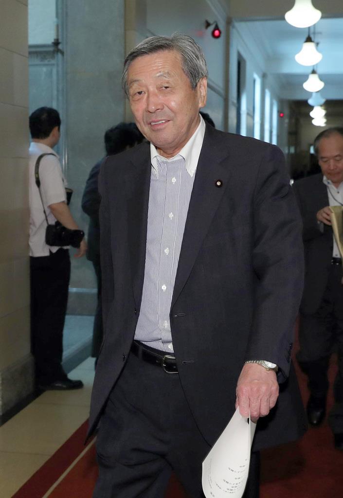 自民党・林幹雄幹事長代理=11日午前、国会内(春名中撮影)