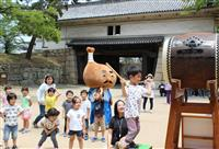 正午告げる太鼓の音 丸亀城で「時の記念日」イベント