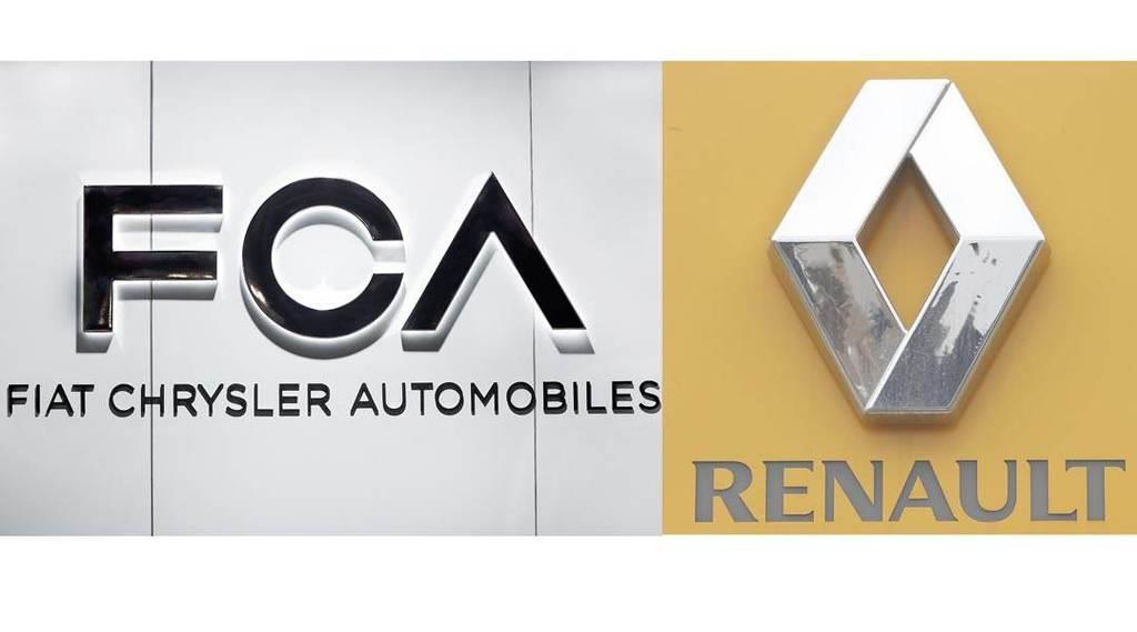 FCA・ルノーのロゴ