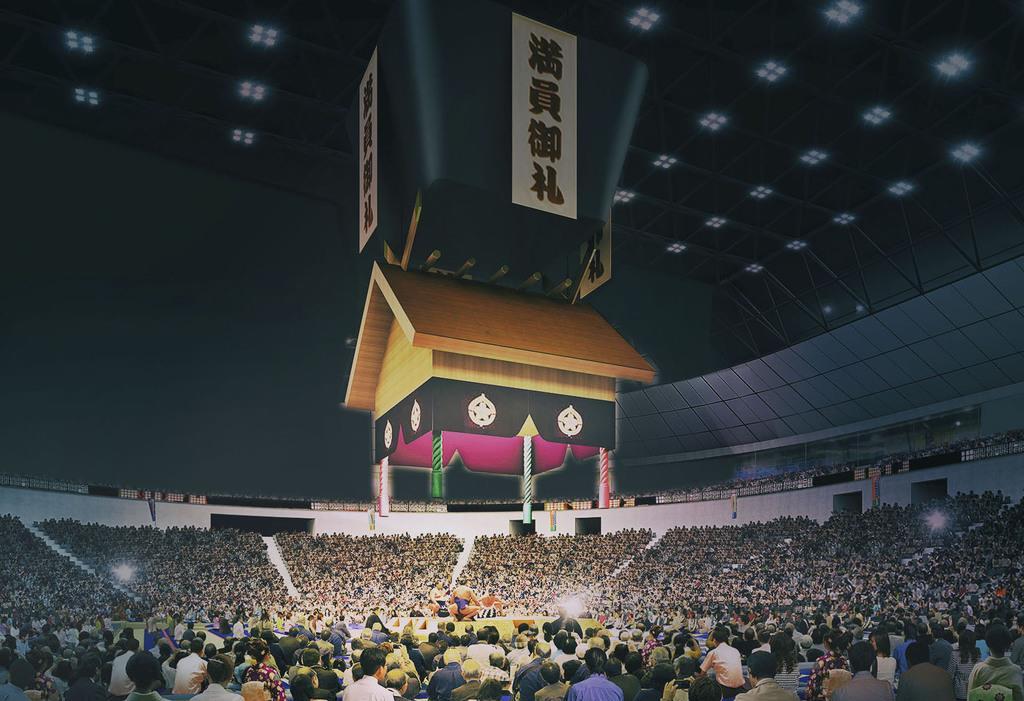 移設新築する愛知県体育館(イメージ、愛知県提供)