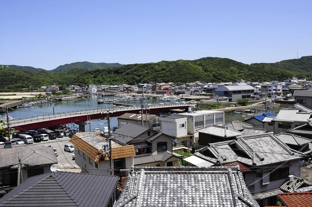 和歌山市加太地区のまちなみ(南海電鉄提供)
