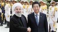 安倍首相、イラン大統領と会談 米との緊張緩和求める