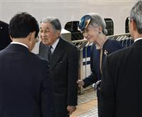 上皇ご夫妻、京都からご帰京 譲位関連儀式終えられ