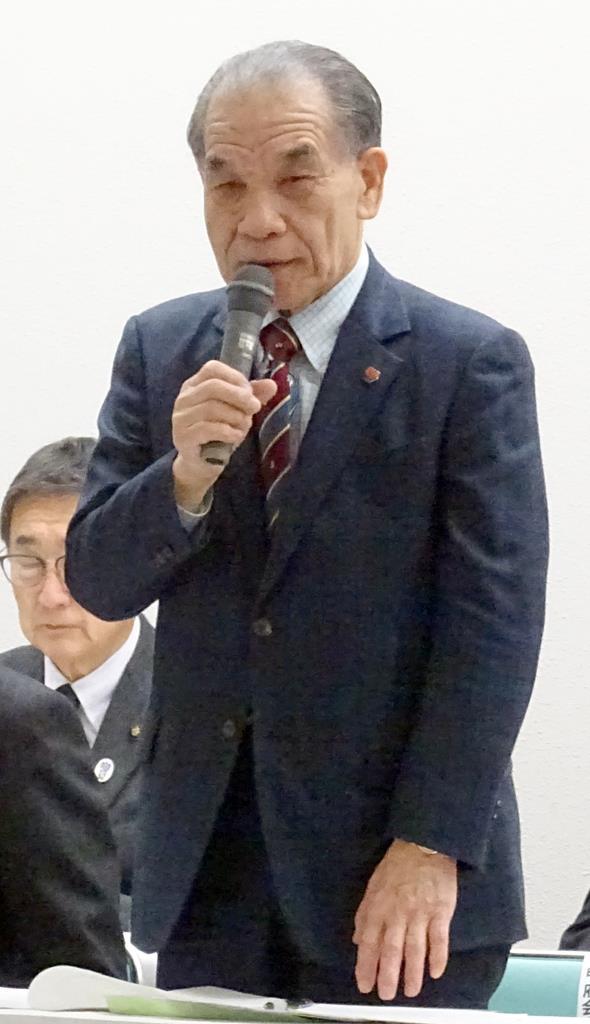 テレビ山梨の金丸康信社長