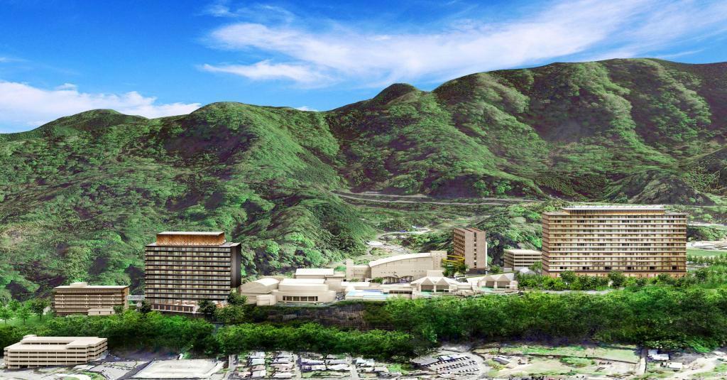 「別府杉乃井ホテル」大規模改装計画の完成イメージ