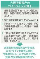 大阪府容認の「学校にスマホ持ち込み」自治体側は慎重姿勢