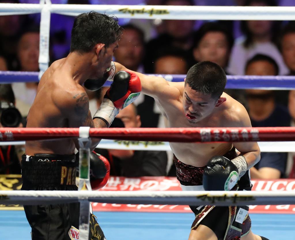 井岡一翔、10回TKOで4階級制覇 ...