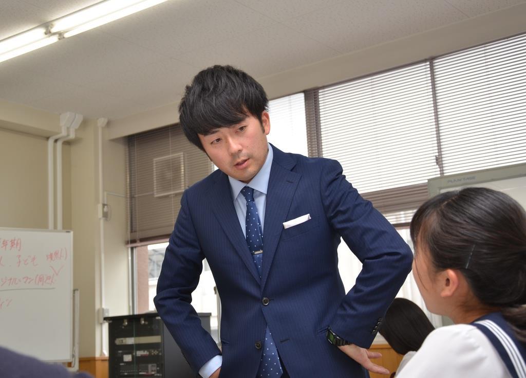 埼玉県立本庄高等学校 平岡星児教諭