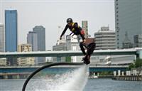 ビル街でハイドロフライト 大阪・堂島川で来月6、7日に全日本選手権