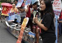 中国漁船「当て逃げ」でフィリピン猛反発 「故意なら断交」