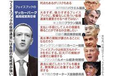 FB仮想通貨創設 金融秩序に動揺、各国が警戒感
