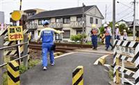 列車にはねられ男児死亡 静岡・島田の踏切