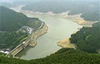 九州北部、梅雨入り最も遅く ダム貯水率低下