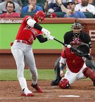 大谷が今季初の代打安打 左腕から引っ張って右前打
