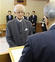 大分市出身でプリツカー賞受賞の磯崎新さんに県特別功労者表彰