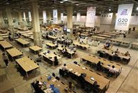 世界から6千人の記者が 24時間態勢のメディアセンターが開設