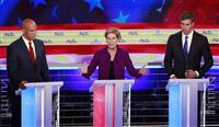 格差是正のウォーレン氏ら米民主党テレビ討論 トランプ打倒へ本格論戦幕開け