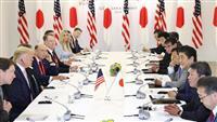 【G20】日米首脳会談 対北方針で完全一致 同盟の重要性共有