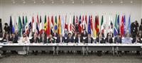 首相「大阪トラック」の開始宣言 デジタル経済ルール作りの枠組み G20