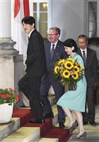秋篠宮ご夫妻、ポーランドご到着 午餐会でごあいさつ