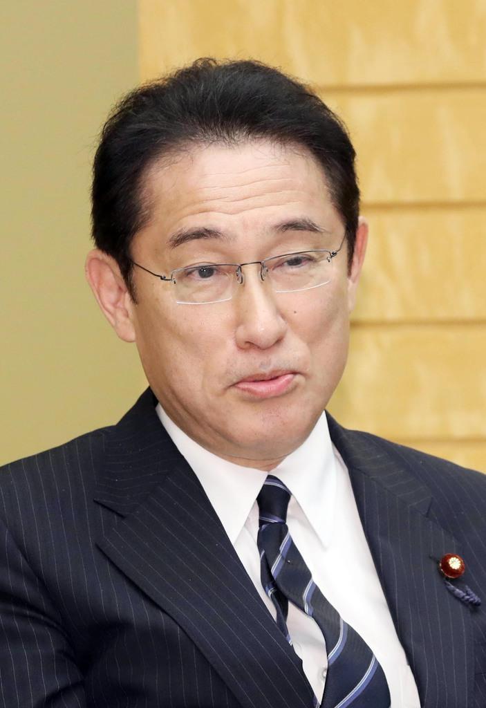 自民党・岸田文雄政調会長(春名中撮影)