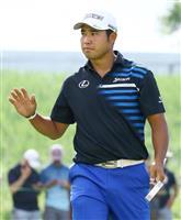 33位発進の松山「もっとスコア出せる」 米男子ゴルフ