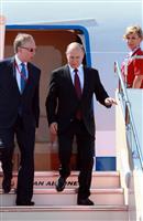 プーチン大統領が関空に到着 G20出席