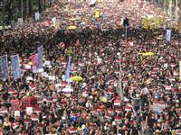 【藤本欣也の中国探訪】香港200万人デモの衝撃 「天安門」との類似点